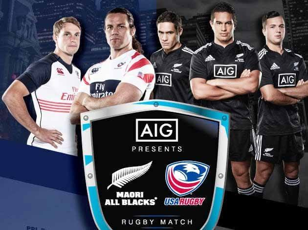 USA vs New Zealnd Maori Rugby Live