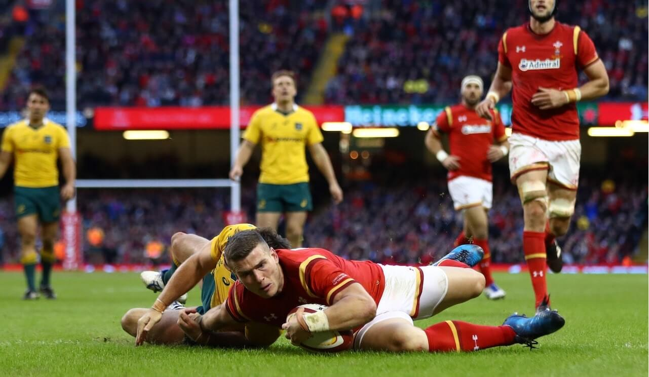 Scott Williams gives Wales more points