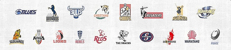Super Rugby 2016 Team Logo