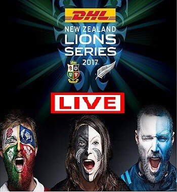 Live Stream DHL New Zealand Lions Series 2017