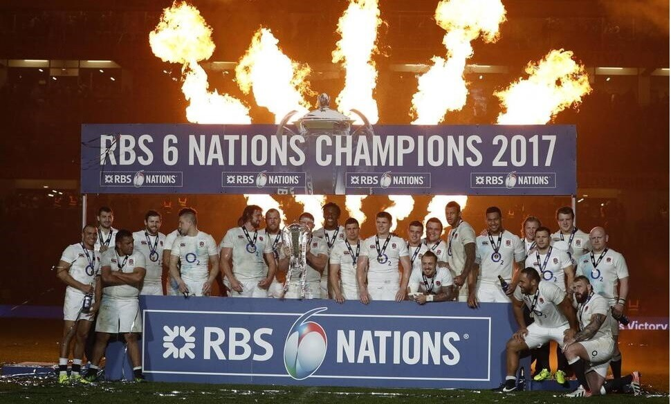 six nations rugby 2017, Champion Winner England Celebration