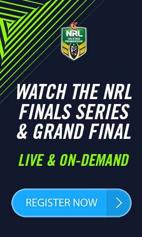 NRL Live Stream HD banner