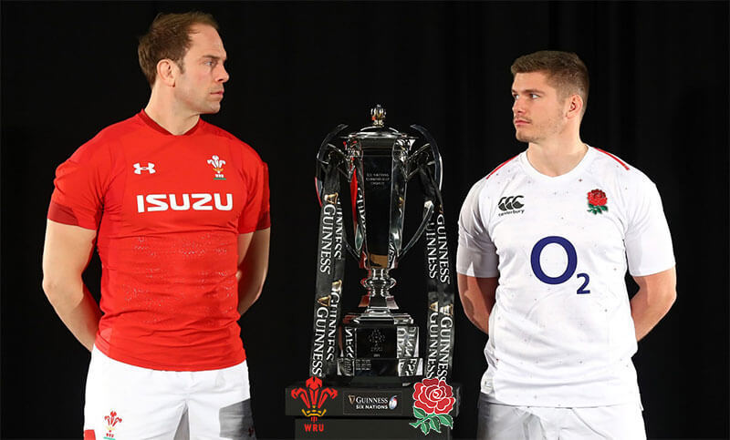 England vs Wales Rugby