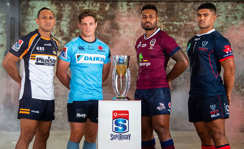 Super Rugby launch 2019 Australian Conference