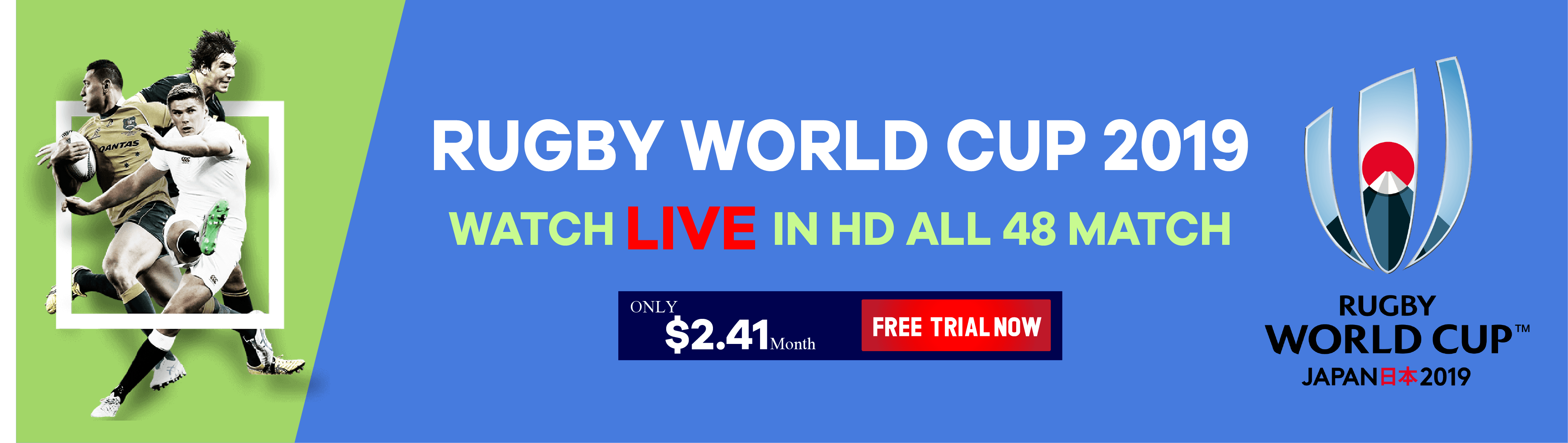 Rugby World Cup 2019 HD Stream